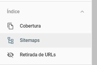 sitemap dentro de Google Search Console
