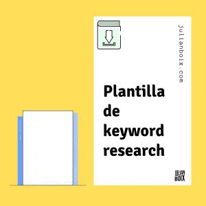 plantilla de kw research