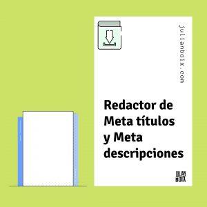 redactor metatitulos y metadescripciones